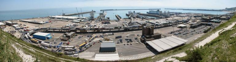 Port of Dover panorama