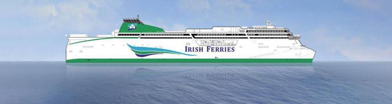 Irish ferries new ro-pax