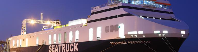 Seatruck добавляет новое судно по маршруту Ливерпуль-Дублин